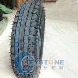 Tricycle Tire, Motorcycle Tire and Tube 4.00-8 for Bajaj