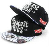New Printing Flat Hat Fashion Black Cap Wholesale