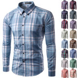 Wholesale Custom Men's Stripe Casual Dress Shirt (A425)