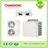 Low Noise Air Cooled Condensing Duct Split Unit with Hermetic Scroll Compressor R22/R410A/R134A/R407c