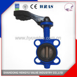 Industrial Wafer Type Butterfly Valve with Aluminum Handlever
