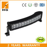 CE Approved 72W 14′′ Curved LED Light Bar for Car