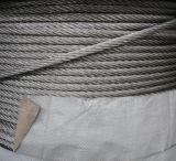 304 High Tension Stainless Steel Wire Rope, Various Diameter