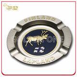 Custom Souvenir Gifts Metal Ashtray with Embossed Logo (SA01)