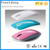 Hot Selling Colorful 3D Mini Wired Optical Mouse