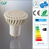 Plastic 3000k 4W LED Spot Lamp with CE RoHS SAA