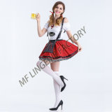 2017 New Design Sexy Beer Girl Fancy Dress Costume