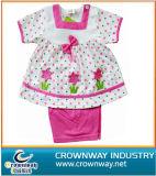 Customize Pretty Design Children Skirt Suit for Little Girl