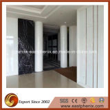 White Polished Crystallized Glass Stone Column