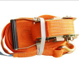 Ratchet Tie-Down Strap with J Hook