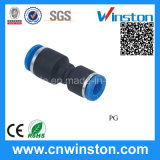 Mini Plastic Pipe Straight Pneumatic Hos Fittings with CE