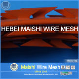 Anti-Climb PVC Coated Concertina Wire