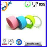China Factory Cheap Custom Silicone Slap Bracelet, Slap Bracelet