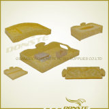 Acrylic Hotel Room Amenity Suit Yellow Cloud Series