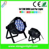Indoor 54X 3W LED PAR Can Light for Stage Lighting