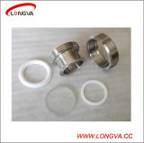 Sanitary Stainless Steel Pipe Fittings Union Type Sight Glass