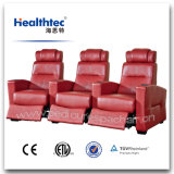 Multi-Functional Electronic Reclining Theatre Chair Cinema Chair with Headrest and Cup Holder (T016-A)