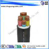 4 Cores XLPE Insulation PVC Sheath Electrical Power Cable