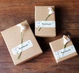 Handmade Kraft Paper Ear Pendants Box