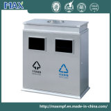 Square Stainless Steel Ashtray Dustbin