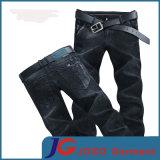 Black Fitted Skinny Jeans with Slant Pocket (JC3401)