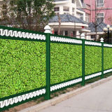 Outdoor Privacy Leaf Plastic Hedges Artificial Plant