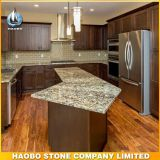 Natural Golden Granite Countertop Cabinet Display