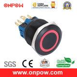 Onpow 25mm Push Button Switch (GQ25-11E/R/6V/A, 25mm, CE, CCC, RoHS)