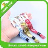 Custom Festival Event Occasion Exhibit Sport Events Woven Fabric Wristband