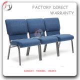 Wholesale Vinyl Fabric Standard Dimensions Church Chair (JC-59)