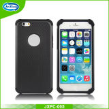 Mobile Phone Accessories Combo PC TPU Hybrid Case for iPhone 6