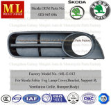 Auto Fog Lights Grille for Skoda Fabia From 2007 (5J0853666)