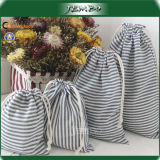 OEM Cotton Canvas Drawstring Storage Jewelry Bag Price