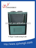 Bitzer Cold Room Condensing Unit with V Type Condenser Sell by Factory Directly