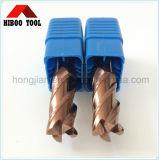 China Manufacturer 4flutes HRC50 Carbide End Mill