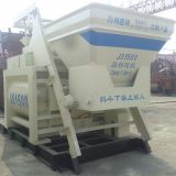 Export High Productivity 70~90m3/H Productiviy Js1500 Twin Shaft Concrete Mixer