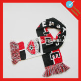 Acrylic Sport Fan Knit Football Scarf