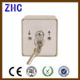 Waterproof Aluminum Roller Shutter Electrical Key Lock Switch