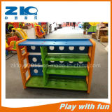 Hot Selling Kids Plastic Book Shelf for 3-8 Year Old