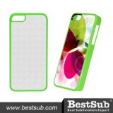 Bestsub New Arrival Sublimation Phone Cover for iPhone 5c Green Plastic Cover (IP5K48G)