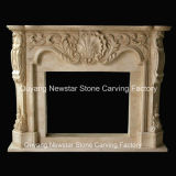 Marble Fireplace Surround Stone Fireplace Mantel Granite Fireplace