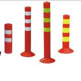 Orange Color PU Road Safety Flexible Post