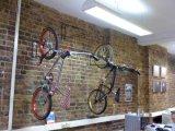 Powder-Coated Metal Wall Bike Hanger
