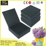 Classic Simple Black High Quality Box for Jewelry (1353)