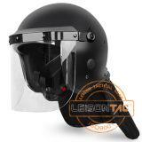 Riot Helmet (Matte) of PC/ABS Material ISO Standard