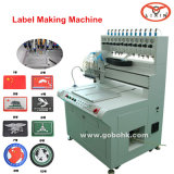 Hot Sale PVC Rubber Patch/Keychain Making Machine