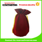 Fashion Newly Design Wine Bag with Yellow String