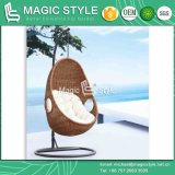 Outdoor Rattan Swing Chair Garden Wicker Hammock (Magic Style)