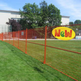 Construction Safety Powder Coated Canada Temporary Fencing (XM-CTF6)