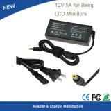 60W 12V 5A Power Adapter for Benq LCD Monitors Charger
